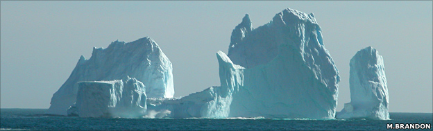 freaking awesomely huge iceberg